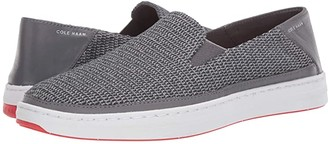 Cole Haan Cloudfeel Knit Slip-On Sneaker (Quiet Shade Gray/Paloma) Men's Shoes