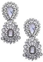 Nina Women's Crystal Cluster Drop Earrings