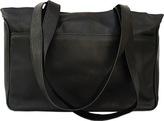 Piel Leather Slim Travel Tote 2364