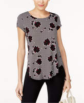 Alfani Petite Printed T-Shirt, Created for Macy's