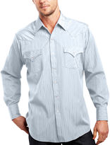 JCPenney Ely Cattleman Long-Sleeve Tonal Snap Shirt