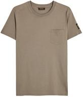 Belstaff Thom Taupe Cotton T-shirt