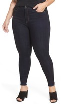 Plus Size Women's Rebel Wilson X Angels The Icon High Rise Super Skinny Jeans