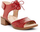 Dansko Liz Lace-Up Block Heel Sandal
