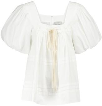 Lee Mathews Robin cotton poplin blouse