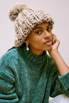 Urban Outfitters Super-Chunky Knit Pom Beanie