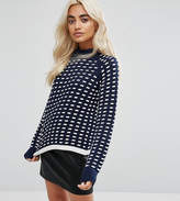 Noisy May Petite Textured Crop Jumper