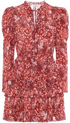 Ulla Johnson Prissa floral cotton-blend dress