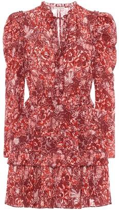 Ulla Johnson Prissa floral cotton-blend dress