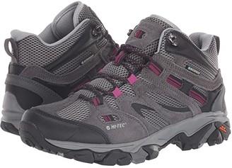 Hi-Tec Ravus Vent Mid WP (Charcoal/Cool Grey/Amarath) Women's Waterproof Boots