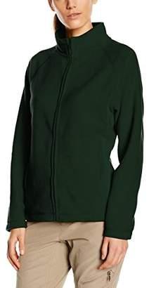 Fruit of the Loom Women's Zip front Fleece,12 (Manufacturer Size:)
