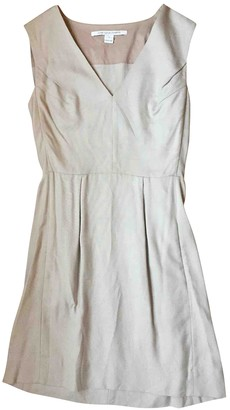 Diane von Furstenberg Beige Viscose Dresses