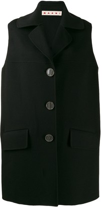 Marni Sleeveless Midi Coat