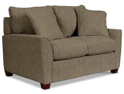 """Thumbnail for your product : La-Z-Boy 58"""" Flared Arm Loveseat"""