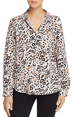 Velvet Heart Animal Print Shirt