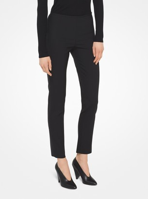 Michael Kors Stretch Wool-Gabardine Trousers