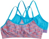 Pink Cookie Girls 7-16 2-pack Space-Dyed Seamless Racerback Bras