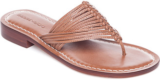 Bernardo Braided Flat Thong Sandals