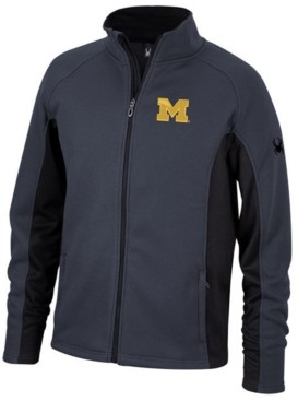 Lids Spyder Men's Michigan Wolverines Constant Full-Zip Sweater Jacket