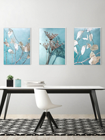 Turquoise by Maja Hrnjak (Canvas) (Set of 3)