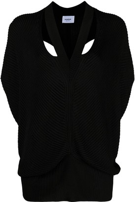 Dondup Cut-Out Knitted Top