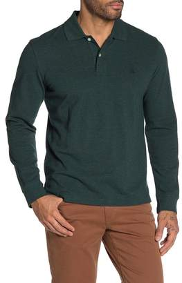 Brooks Brothers Knit Long Sleeve Polo