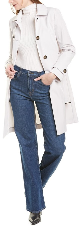 Cinzia Rocca Icons Double-Breasted Trench Coat
