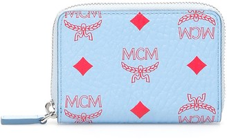 MCM Zipped Monogram Wallet