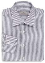 Canali Cotton Striped Modern-Fit Dress Shirt