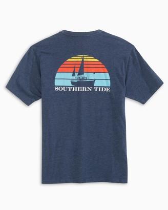 Southern Tide Sunset Sailing T-Shirt