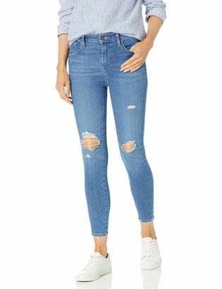 Levi's Women's 720 High Rise Super Skinny Crop Jeans