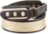 Mayle Metallic Leather Belt