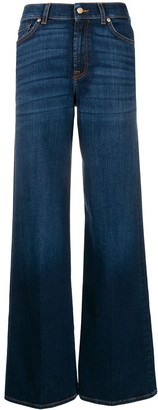 7 For All Mankind Lotta wide-leg jeans