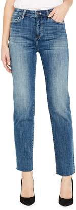 Buffalo David Bitton Check This Semi High-Rise Straight-Fit Jeans