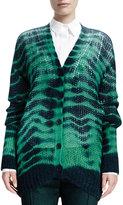 Stella McCartney Long-Sleeve Soft Tie-Dye Sweater