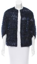 Lela Rose Lightweight Fringed Jacket w/ Tags