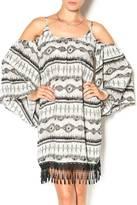 Cezanne Cold Shoulder Dress