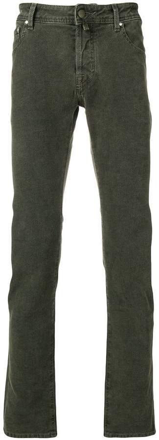 Jacob Cohen bandana patch jeans