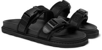 Bottega Veneta Leather And Webbing Sandals