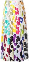 Marco De Vincenzo watercolour print skirt - women - Polyester - 40