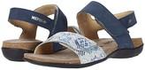 Mephisto Agave (Jeans Blue Buckspft/Boa) Women's Sandals