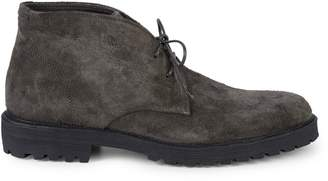 Vince Boulder Suede Two-Eye Chukka Boots