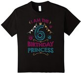 Kids Birthday shirts for girls - Age 6