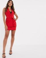 Asos Design DESIGN pop suit mini skirt