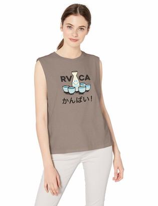 RVCA Womens KAMPAI Sleeveless Muscle Tank TOP