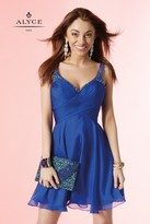 Alyce Paris Homecoming - Dress In Sapphire 4414