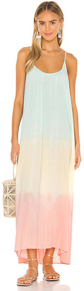 9seed 9 Seed Tulum Core Cotton Maxi Dress