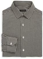 Valentino Gingham Cotton Dress Shirt