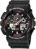 G-shock G-shock Ga-100-1a4er Black Sports Watch