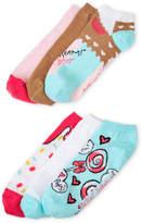Betsey Johnson 6-Pack Low Cut Ice Cream Socks